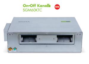 SGM60KTC Sigma 60.000 Btu Kanal Tipi klima