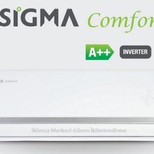 SGM12INVDMS Sigma 12000 Btu Klima, comfort serisi