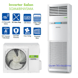 SGM48INVSMA Sigma inverter salon tipi klima 48.000 Btu